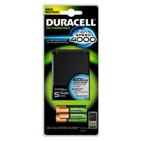 Duracell 2.5 Hour 4 Position AA/AAA NIMH Battery Charger Includes 2 x AA and 2 x AAA NIMH 2400mAh Batteries