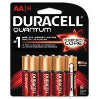 Duracell Alkaline AA Battery 8 Pack