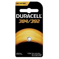 Duracell 384/392 1.5 Volt Silver Oxide Watch Battery