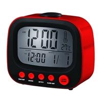 Coby Electronics Retro Alarm Clock Red