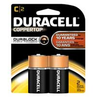 Duracell Alkaline C Battery