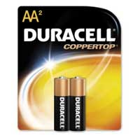 Duracell AA Alkaline Battery 2 Pack