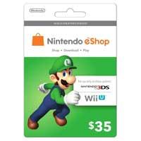 InComm Nintendo eShop Luigi Gift Card $35