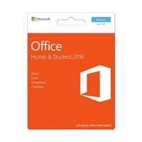 Microsoft Office Home & Student 2016 Edition (PC)