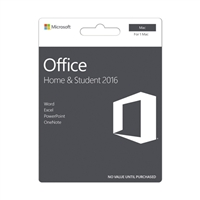Microsoft Office Home & Student Edition (Mac)