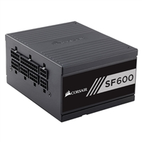 Corsair SF600 600 Watt 80 Plus Gold Modular SFX Power Supply