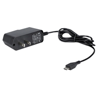QVS 2.5Amp 5.1v Switching Power Supply for Raspberry Pi B with Built-in 4ft Micro-USB Cable