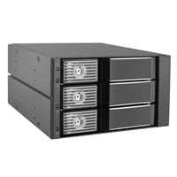 "Kingwin MKS-335TL Trayless Hot-Swap Mobile Rack for 3.5"" HDD"