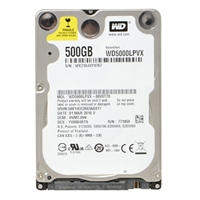"WD 5,400 500GB 2.5"" Internal Notebook Hard Drive Factory Re-certified"