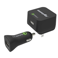 Digipower Quick Charge 2.0 Wall & Car Charger Kit