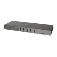 IOGear 8-Port DVI KVMP switch with VGA support