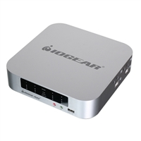 IOGear 4-port DualView Mini DisplayPort KVMP Switch with Peripheral Sharing