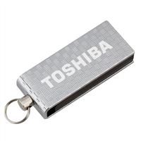 Toshiba 16GB USB 2.0 Micro Flash Drive PA3879U-1MAS Silver