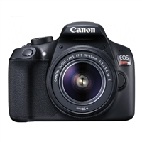 Canon EOS Rebel T6 18 Megapixel Digital SLR Camera Kit with  18-55 EF-S Lens - Black
