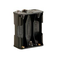 Velleman Battery Holder for 6xAA with Snap Terminals