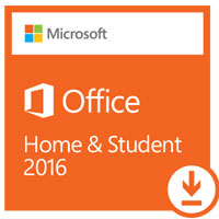 Microsoft Office Home & Student 2016 Edition ESD (PC)