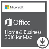 Microsoft Office Home & Business 2016 Edition ESD (Mac)