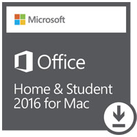 Microsoft Office Home & Student 2016 Edition ESD (Mac)