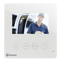 Swann Communications Door Phone Video Intercom with Color LCD Monitor