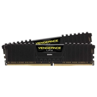 Corsair 16GB 2 x 8GB DDR4-2400 PC4-19200 Desktop Memory Kit