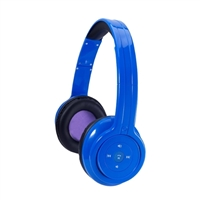 Craig CBH508-BL Bluetooth Wireless Headphones - Blue