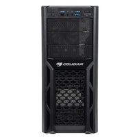 Cougar Solution Steel ATX Mid-Tower Computer Case - Black