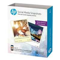 HP Social Media Snapshots Removable Sticky Photo Paper