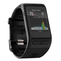 Garmin vivoactive HR Regular Fit Activity Tracker - Black