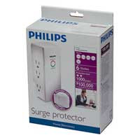 Philips Home Electronics 6-Outlet Surge Protector