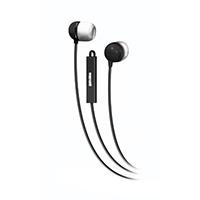 Maxell Ear-Buds w/ In-Line Mic - Silver
