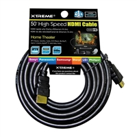 Xtreme Cables 50 ft. High Speed HDMI Cable w/ Ethernet