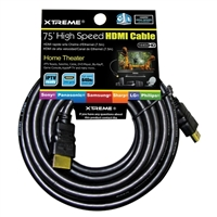 Xtreme Cables 75 ft. High Speed HDMI Cable w/ Ethernet