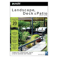 Encore Software Encore Software Punch! Landscape, Deck & Patio Design v18