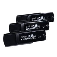 Unirex 16GB USB 3.0 Swing Flash Drive