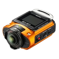 Ricoh WG-M2 Action Camera Kit Orange