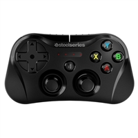 SteelSeries Stratus (Factory-Recertified) Wireless Gaming Controller for iOS - Black