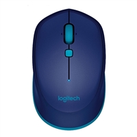 Logitech M535 (Refurbished) Compact Bluetooth Mouse - Blue