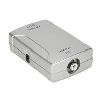 QVS RCA Coaxial to Toslink S/PDIF Digital Audio Format Converter
