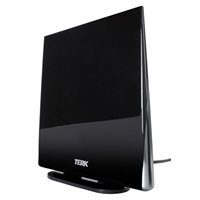 Audiovox Electronics Indoor Flat Amplified Multi-directional HDTV Antenna