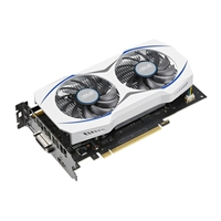 ASUS GeForce GTX 950 2GB GDDR5 PCIe White Shroud Video Card w/ Dual-Fan Cooling