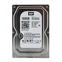 "WD Caviar Blue 160GB 7,200 RPM SATA II 3Gb/s 3.5"" Internal Hard Drive WD1600AAKX - Factory Recertified"