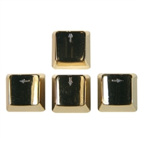 Bradychan Zinc Arrow Keys Gold