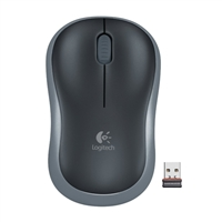 Logitech M185 (Refurbished) Mouse - Gray