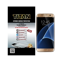 Titan Screen Protectors Extreme Surface Protection for Galaxy S7 Edge