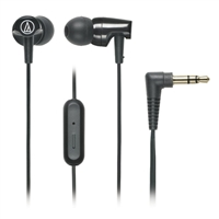 Audio Technica SonicFuel Earbuds w/ Mic - Black