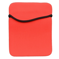 QVS Reversible Sleeve for iPad Tablets - Red/Black