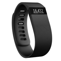 FitBit Charge HR Activity Tracker Small Refurbished - Black