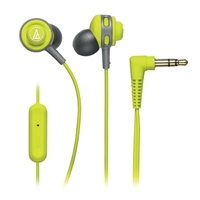 Audio-Technica SonicSport In-Ear Headphones - Lime Green