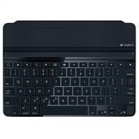 Logitech (Refurbished) Ultrathin Magnetic Clip-on Keyboard Cover for iPad Air
