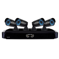 Night Owl 4 Channel HD DVR  with 1TB Hard Drive and 4 HD Cameras Refurbished